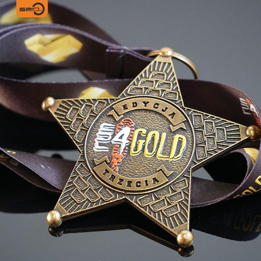 Medal na zamówienie Run 4 Gold