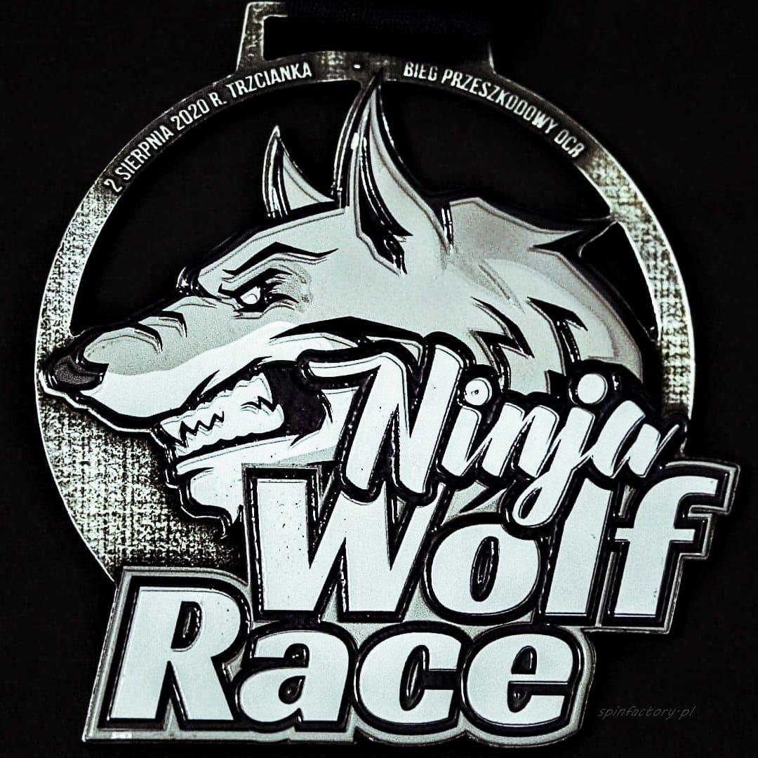 Medal na zamówienie Ninja Track Wolf Race