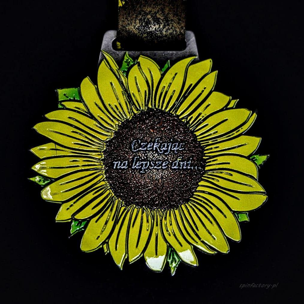 Medal z kwiatkiem
