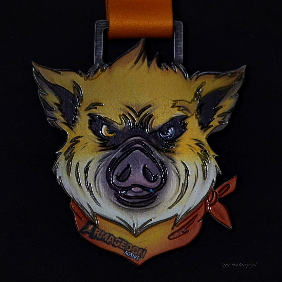 Kolorowy medal