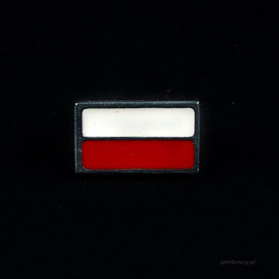 Pin z flagą Polski